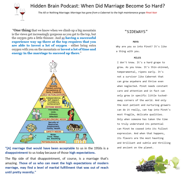 hidden brain podcast marriage